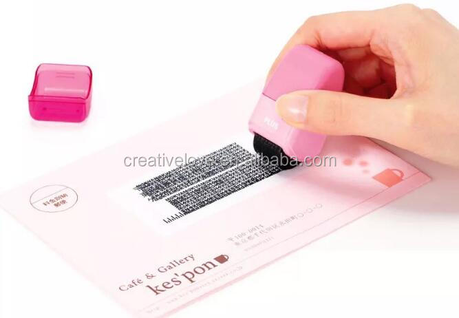 2017 Amazon New Arrival Guard Your ID Roller Stamp To Protect Your Personal Information