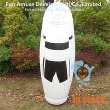 2m high inflatable soccer keeper taining dummy in stock