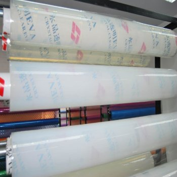transparrent plastic film