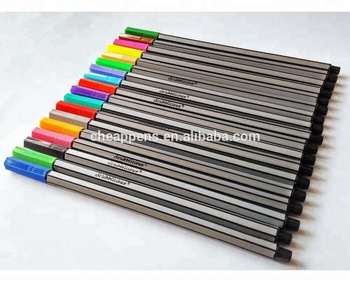 0.4mm colorful fineliner pen,Graphic Fineliner,color marker pen