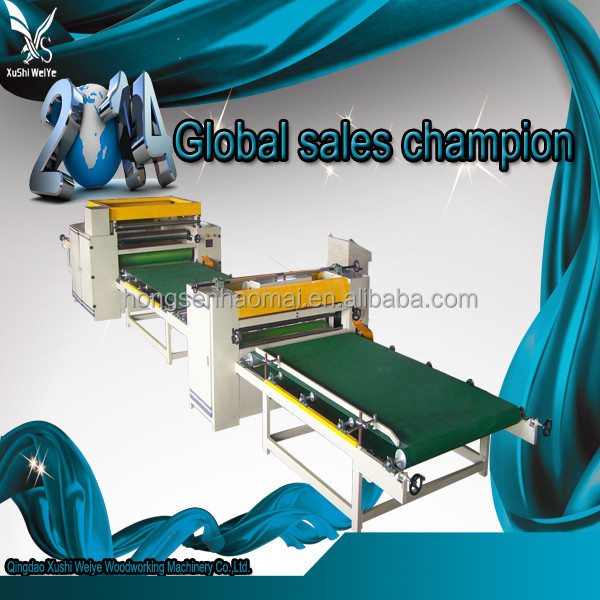 Wordworking second hand laminating machine for floor making