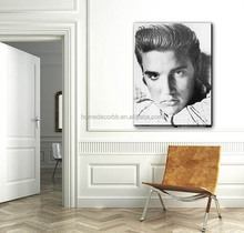 latest design modern elvis presley face pictures portrait painting canvas prints giclee artwork wall art for home decor custom