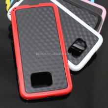 Mat single bottom case straw matting grain combo case for Samsung Galaxy Trend Lite s7392 s7390