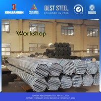 pre galvanized iron tube /greenhouse post/ASTM