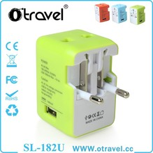 Songlinda Original Design Own Patent Universal Travel Adapter with usb