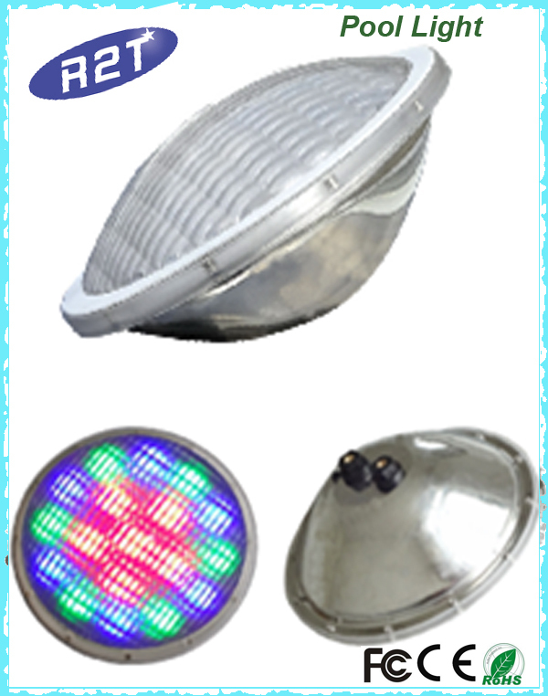Waterproof Stainless Steel Underwater Led Swimming Pool Lights With Dmx Wifi Remote Switch