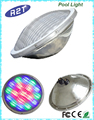 Waterproof stainless steel underwater LED swimming pool lights with DMX/WIFI/Remote/Switch Control methods