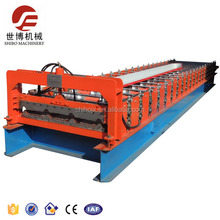 Steel roof tile sheet making machine