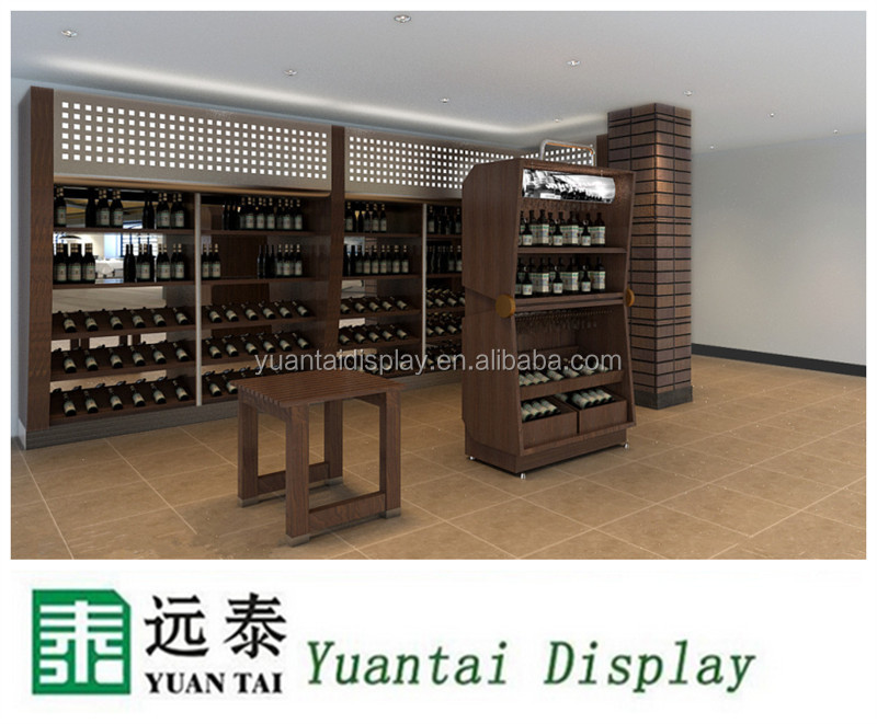 2017 New Oak Modern Display Solid Wood Design Wine Cabinet