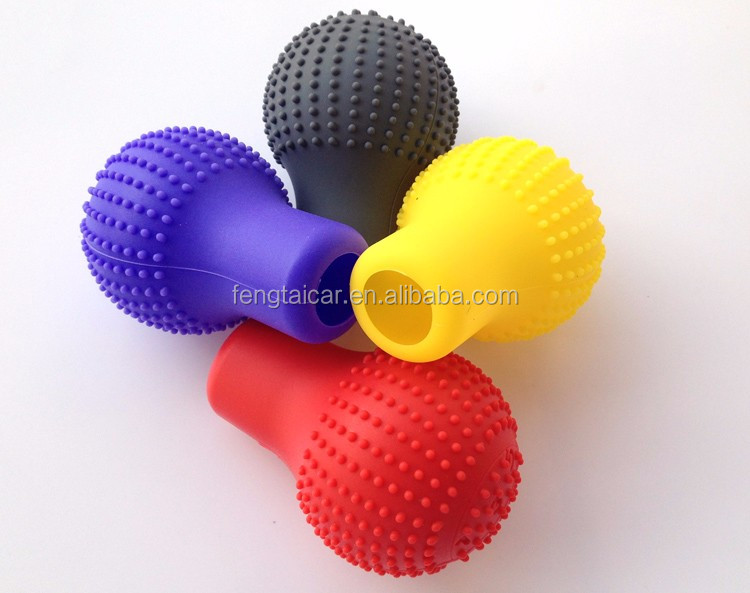 Silicone Automatic Gear Shift Knob Boots Cover Sleeves For Car Volkswagen VW Golf 6 CC New Polo