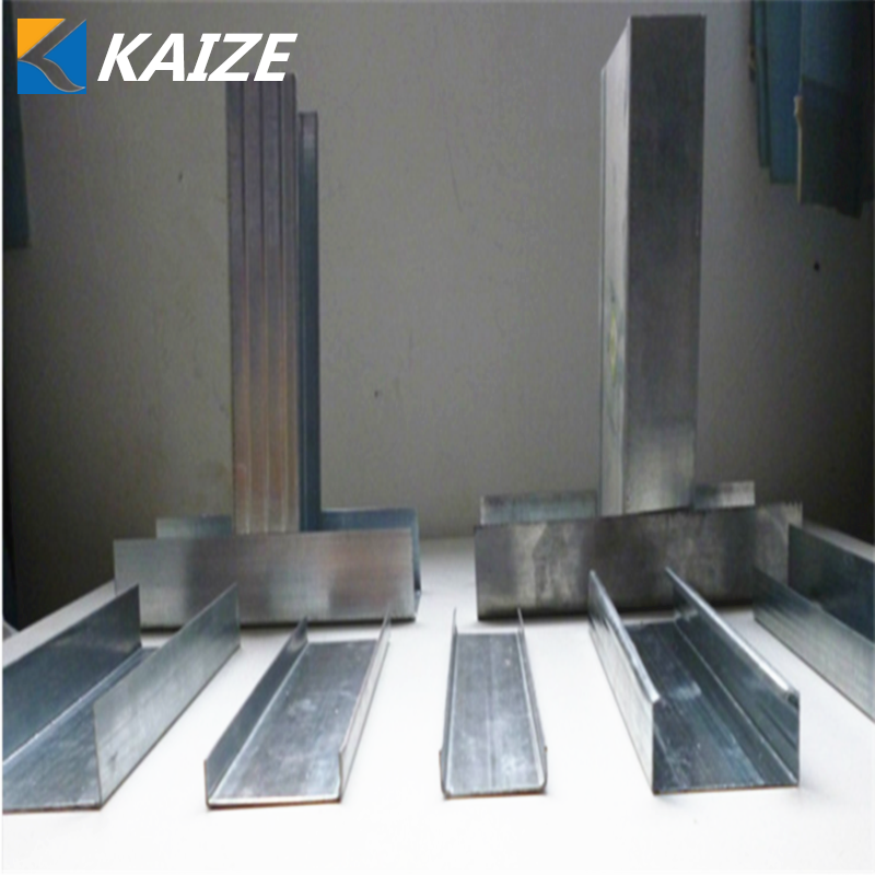 Galvanized metal steel gypsum drywall stud and track /runner made in China Middle east /Thailand/Malalysia /Philippines /Africa