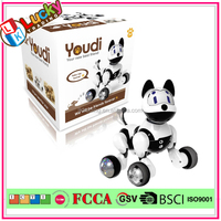 Voice control electric robot dog toy for sale