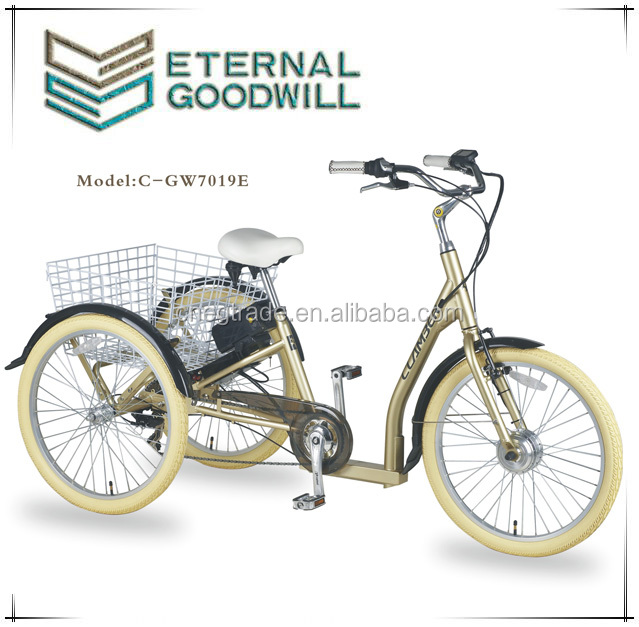 24inch electric motor tricycle for adults