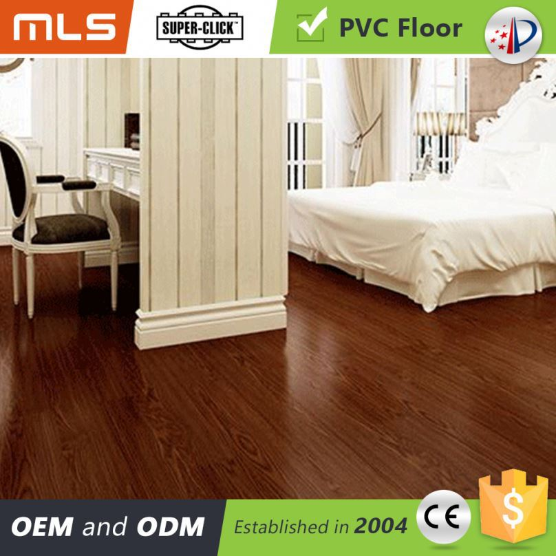 Hot Sale Wood Look Click Lock Pvc Indoor Basketball Flooring Prices