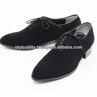 sdd0601 suede dress slim shoes 3.5cm heel made in kroea