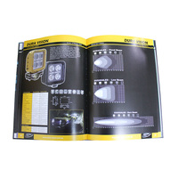 Case bound cmyk full color printing product catalog