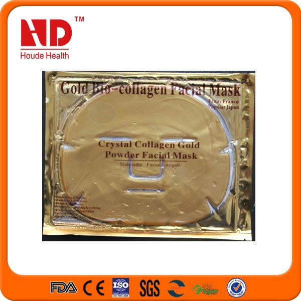 Hot Sale Collagen Crystal golden bio-collagen facial mask