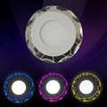 2015 new design 3+3w LED crystal downlight/ceiling light
