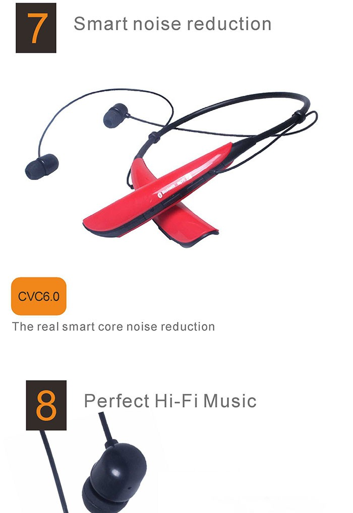 2016 hot sale HBS750 bluetooth earphone,wireless earphone,wireless bluetooth headset