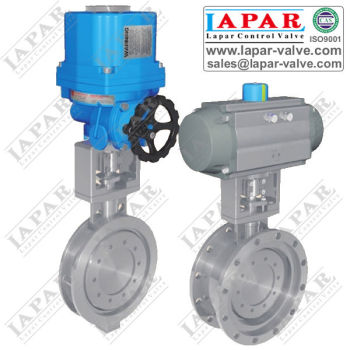 Triple Eccentric Electric Butterfly valve