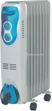 Oil filled radiator oil heater