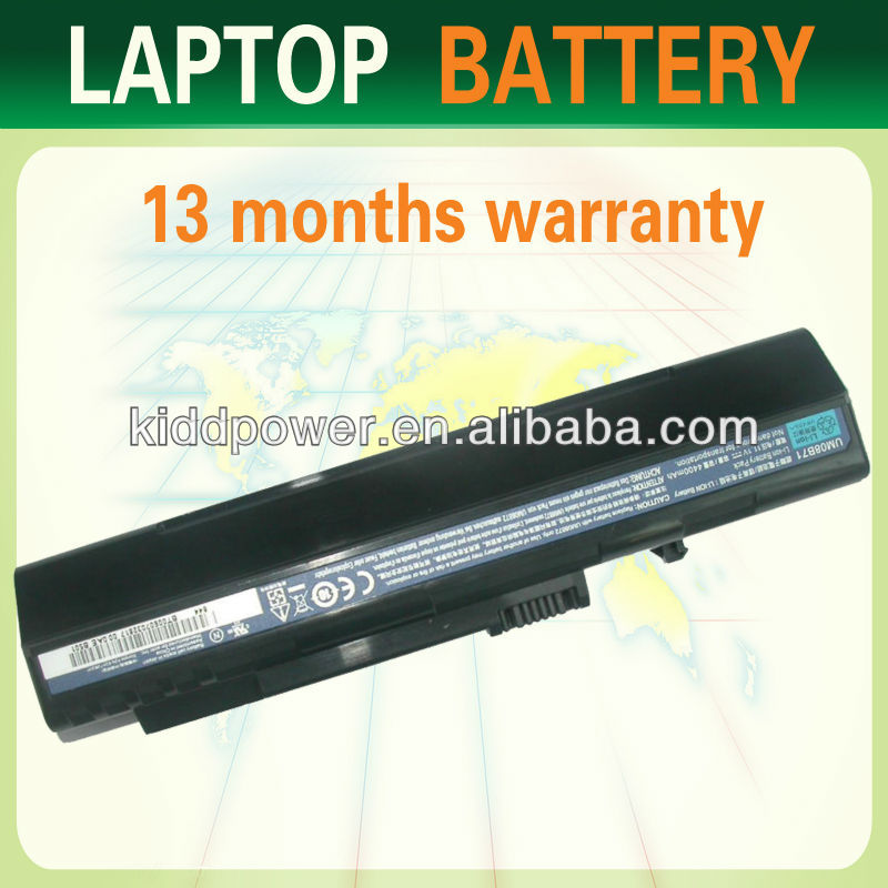laptop batteries ZG5 for Acer ASPIRE ONE UM08A71 UM08B73 UM08B74 notebook battery
