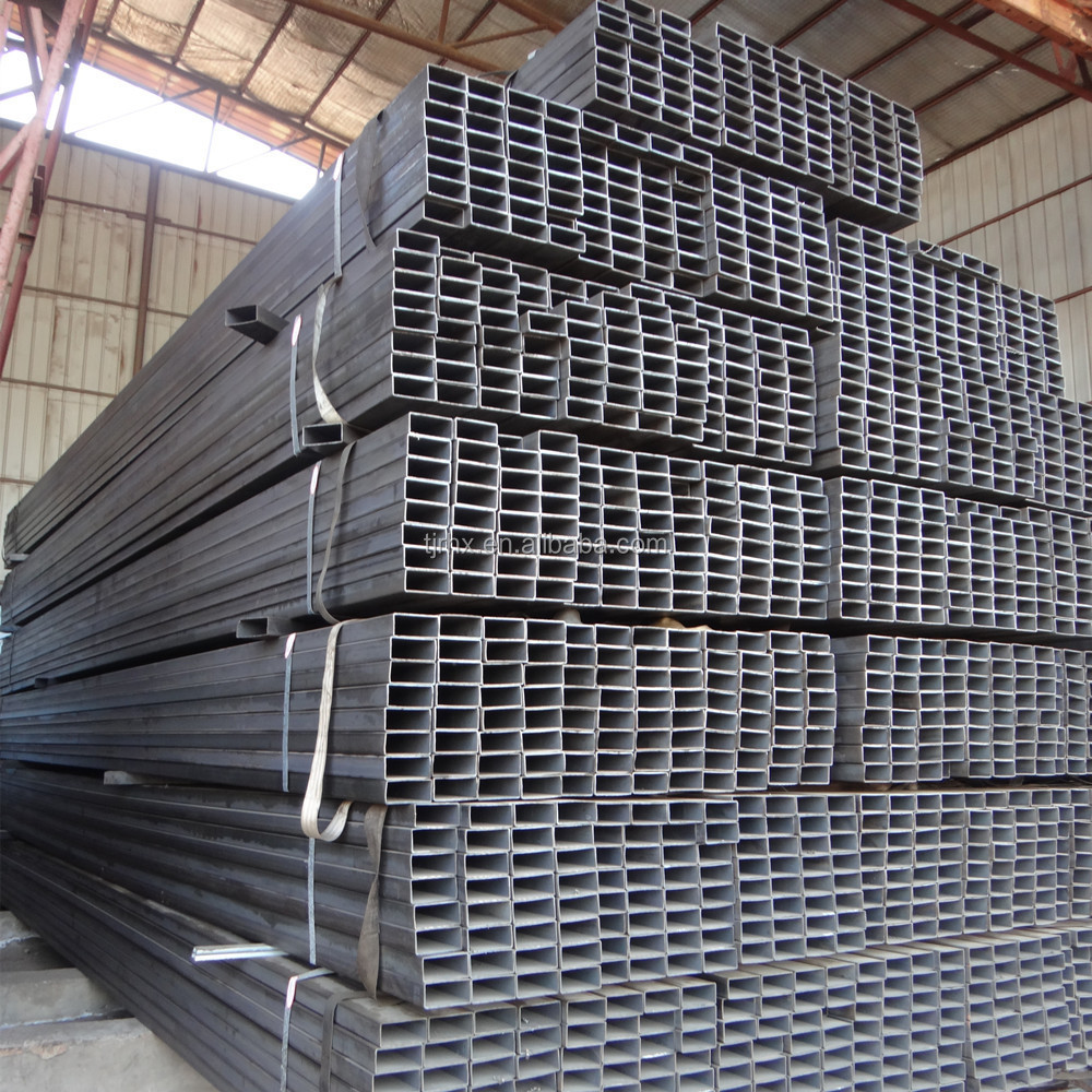 ms hot rolled structural rectangular steel pipe