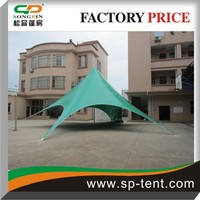 Pop up displaying star tent with custom brilliant Logo printed