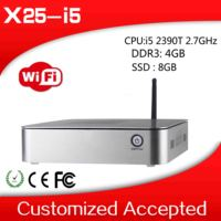 The cheapest! windows embedded full hd sex 1080p porn video mini pc tv bo x25-i5 2390T mini pc x86 4gb ram 8gb ssd