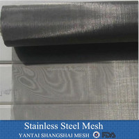 square hole size stainless steel wire mesh
