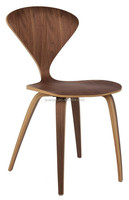 Bentwood side chair slim wooden legs home furniture living room chair
