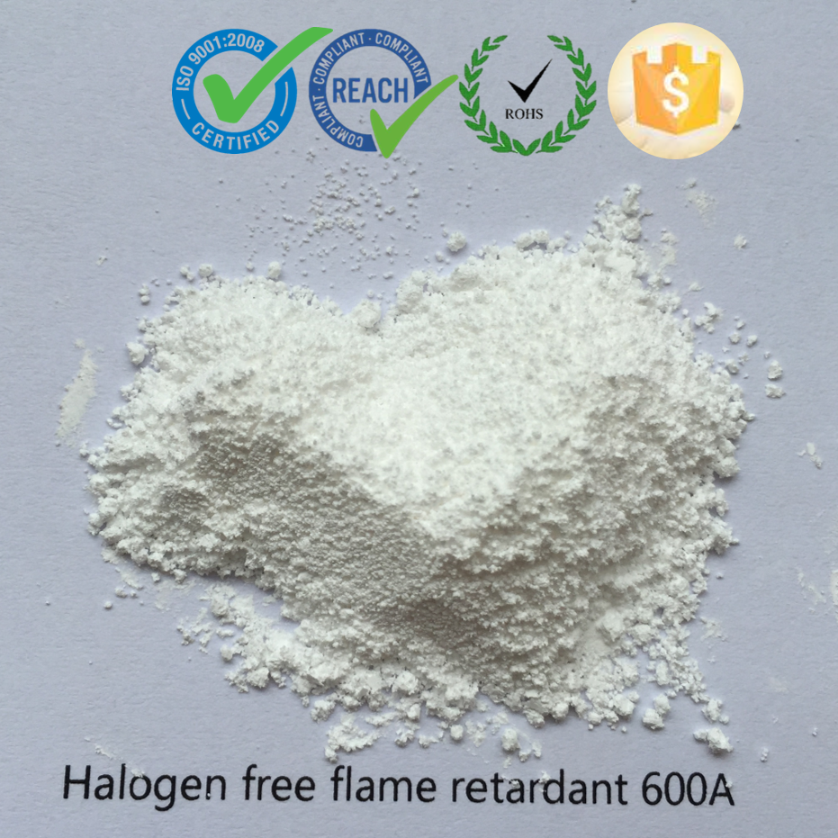 UL 94 V0 halogen free flame retardant chemical additives for plastic polymer