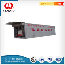 high quality two compartments refuel fuel 40ft fuel filling station