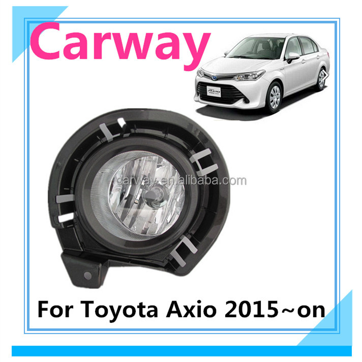 Best car body kits for Toyota Axio 2015 fog lamp