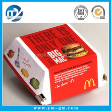 Packaging hamburger / hamburger packaging box