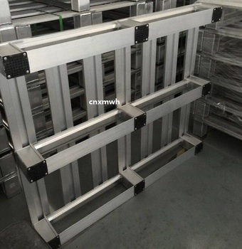 For Pallet Racking Food Industry Hygiene Aluminium Pallet