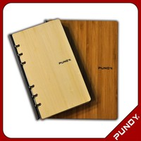Eco Friendly Product PUNDY Bamboo Notebook