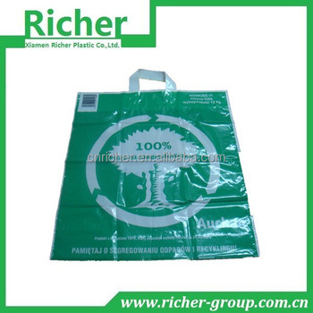 recyclable flexi polypropylene bag for supermarket shopping