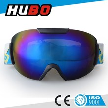 custom color frame REVO coating lens high quality ski snow goggles equipment