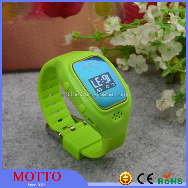 2016 Child Gps Watch Phone Silicone SOS Watch