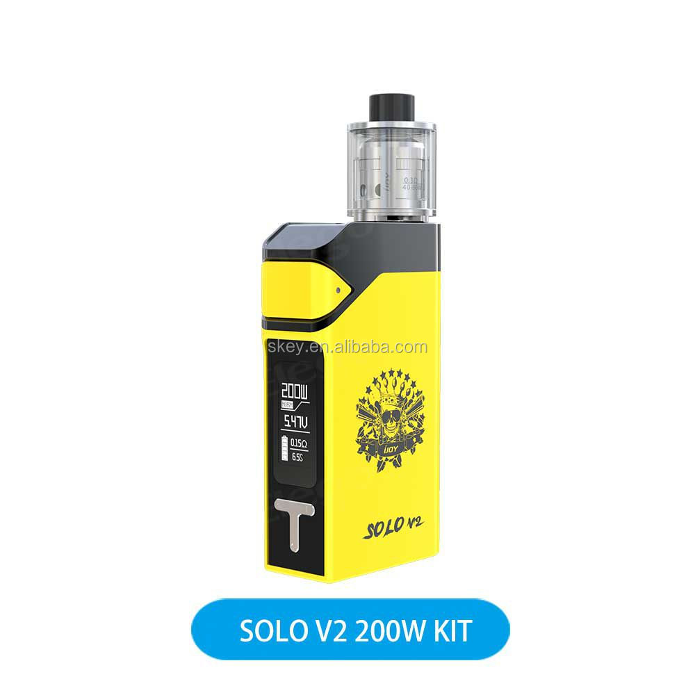 Fantastic 6666 Authentic 200W 2ml IJOY Solo V2 Kit VS Smok Alien Kit