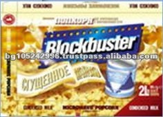 Exclusive Labels Snack Salt Microwave Popcorn