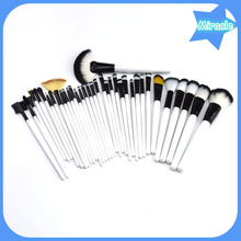 36pcs wooden handle cosmetic brush synthetic makeup brush tools Shenzhen