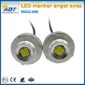 High Power Error Free XB-D 80W LED Angel Eyes Halo Ring Light Bulbs for E60LCI E61LCI E71 X6