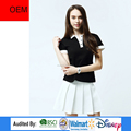 2017 Fashion Top OEM design woman polo t-shirt in China supplier