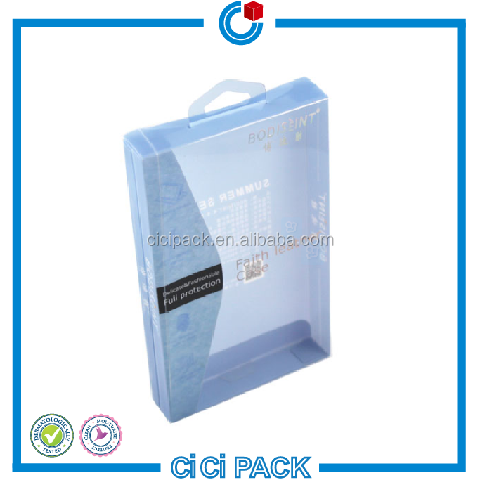 full package plastic phone case box