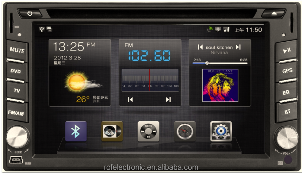 Android car dvd player gps for any car,2din universal Android car radio dvd