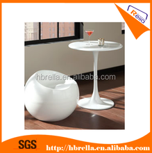 glossy fiber glass dining tables and chairs sets