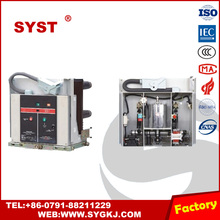 VS1-12series Indoor High-tension Vacuum Circuit Breaker with spring operating mechanism