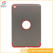 China factory fast delivery low moq tpu pc combination unique design case for ipad mini 4